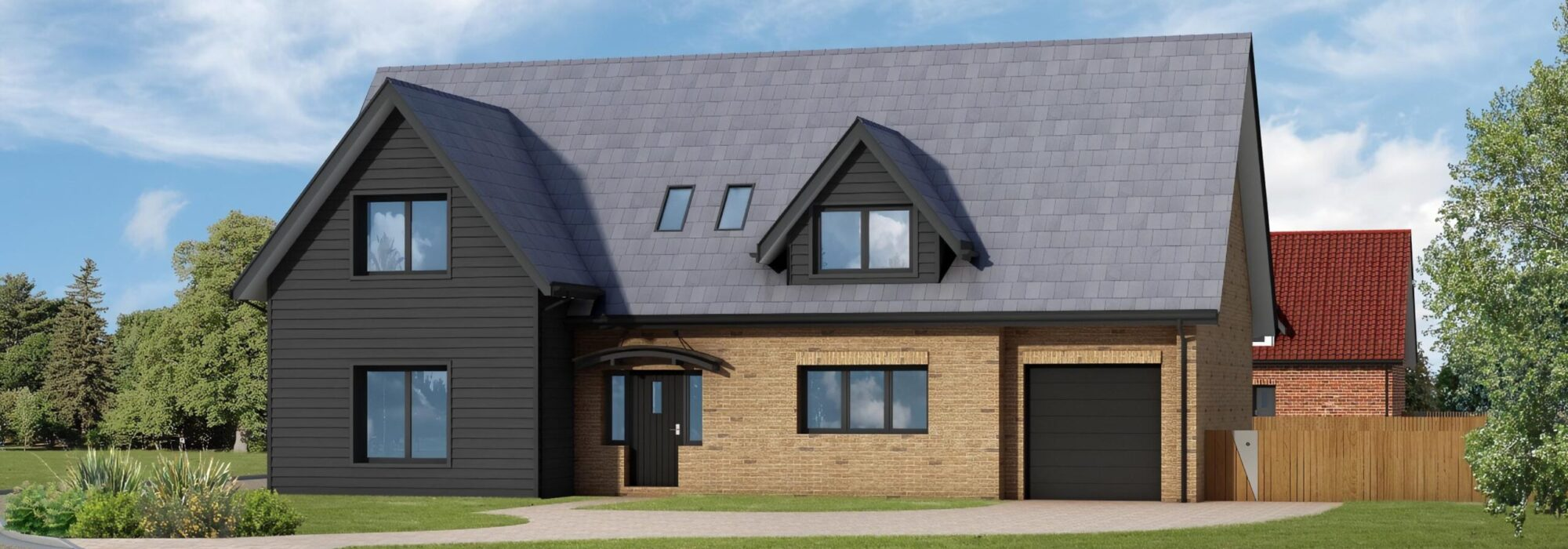 Render of property in Turnpike lane, Red Lodge